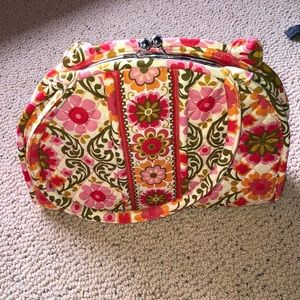 Vera Bradley hard shell arm bag